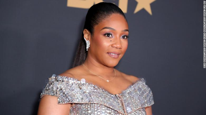 Tiffany Haddish offers up advice for those looking to break into comedy