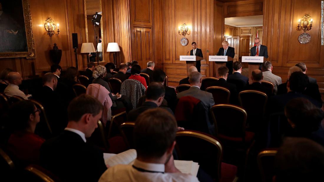Boris Johnson has split from his top scientists on coronavirus