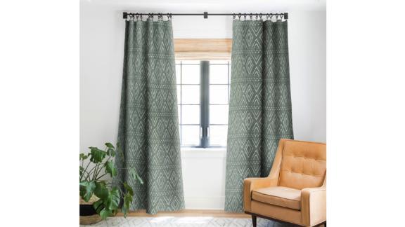 Deny Designs Little Arrow Design Co. Farmhouse Diamond Blackout Window Panel