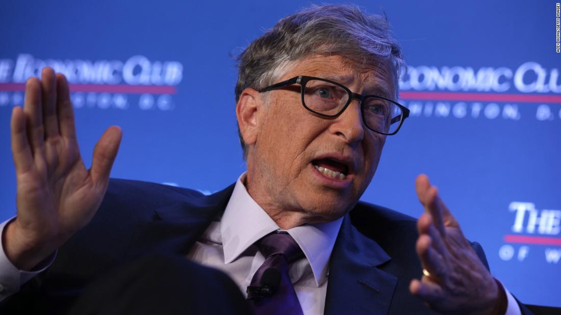 Bill Gates says most coronavirus tests are a 'complete waste' because the results come back too slow