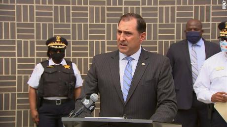 US Attorney John R. Lausch Jr. announces drug and gun trafficking arrests.