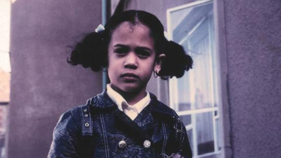"Harris tweeted this photo of her as a child after referencing it during a Democratic debate in June 2019. During the debate, she confronted Joe Biden over his opposition many years ago to the federal government mandating busing to integrate schools. ""There was a little girl in California who was bussed to school,"" she tweeted. ""That little girl was me."""
