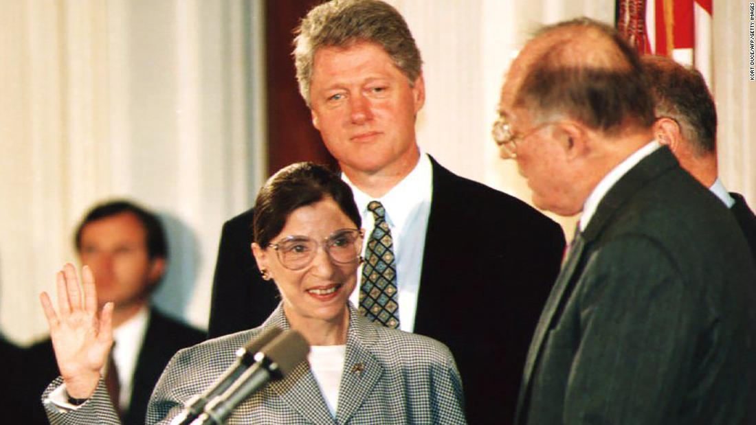 Former President Clinton calls Ginsburg 'one of the most extraordinary justices ever to serve'