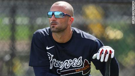 Atlanta Braves right fielder Nick Markakis said he felt he needs to be on the field.
