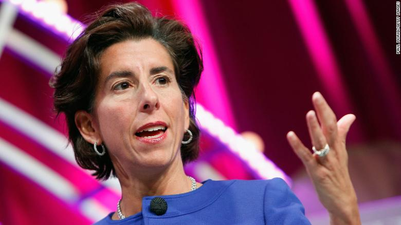 Biden poised to tap Rhode Island Gov. Gina Raimondo to lead Commerce Department