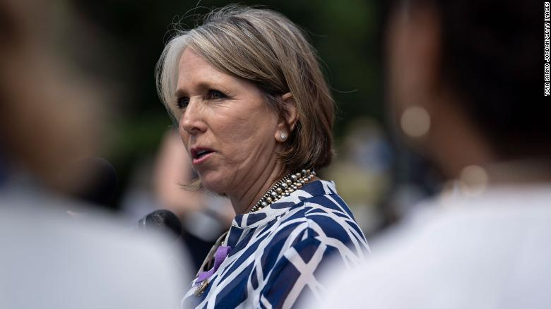 Hispanic lawmakers urge Biden to pick Lujan Grisham for HHS
