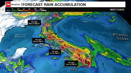 Tropical storm Isaias forms in the Caribbean