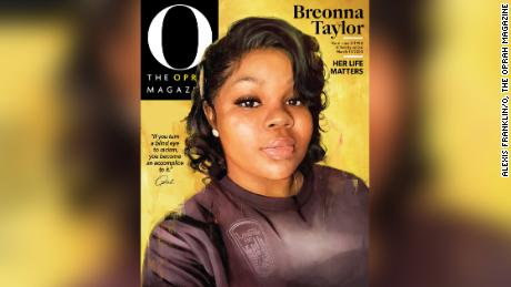 Breonna Taylor featured on Oprah Magazine's September cover