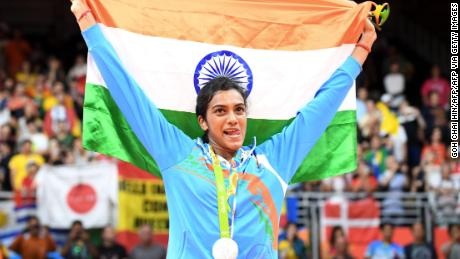 Landmark moment: At the 2016 Games, P V Sindhu became the first woman in India's history to win an Olympic silver medal