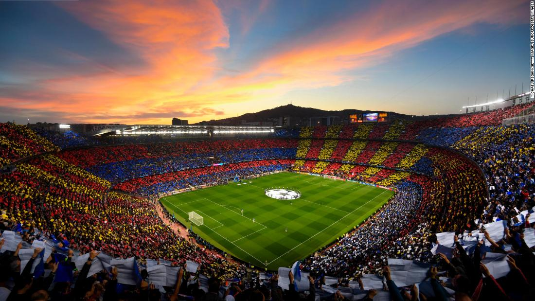 Two Barcelona first-team staff test positive for Covid-19, club says