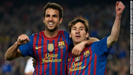 Cesc Fabregas believes Lionel Messi is still the same player as before.