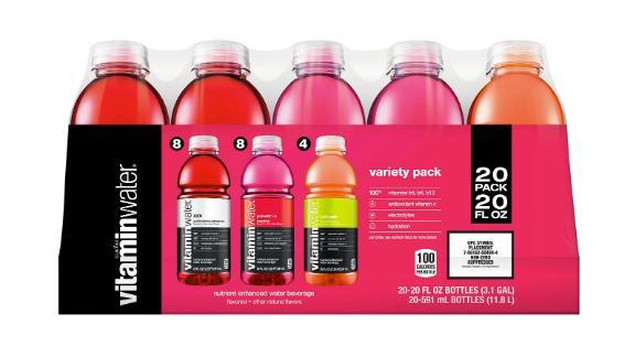 Glaceau Vitaminwater Variety Pack, 20-Pack