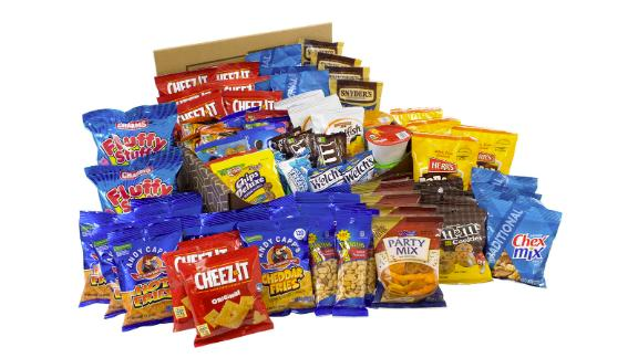 Big Party Snack Box, 75-Count