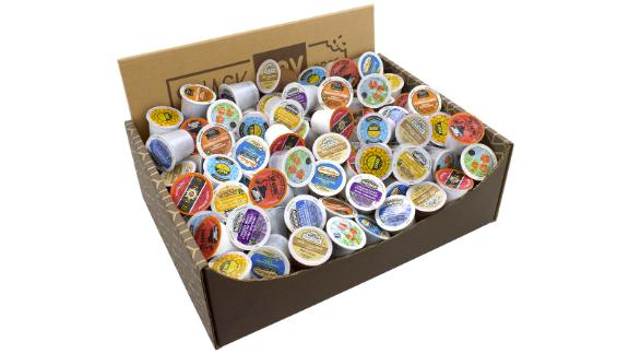Snack Box Pros Large Assorted K-Cup Box, 84-Count
