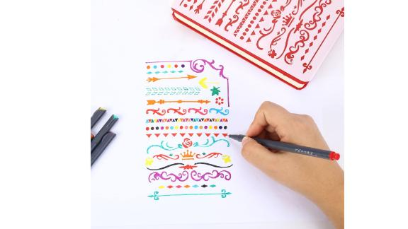 iBayam Journal Planner Pens Colored Fine Point Markers