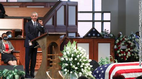 Watch Obama's full eulogy for John Lewis - CNN Video