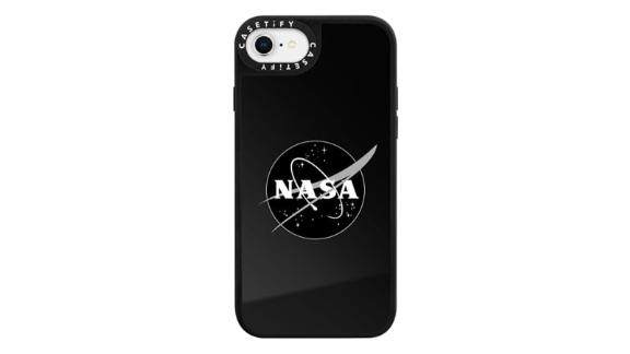 Black Insignia Mirror Case