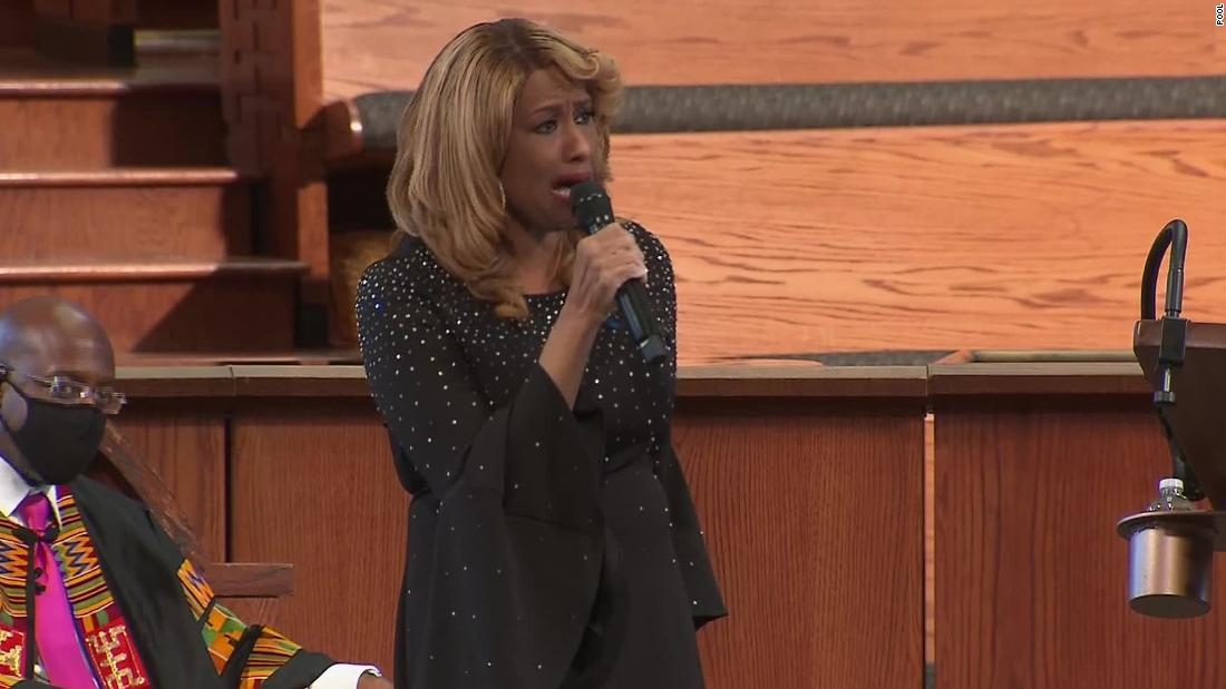 Photo of Jennifer Holliday took us to church to honor John Lewis   Lisa Respers France, CNN