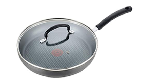 T-fal E76597 Ultimate Hard Anodized Nonstick 12-Inch Fry Pan With Lid
