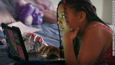 These kids are getting left behind when schools go online