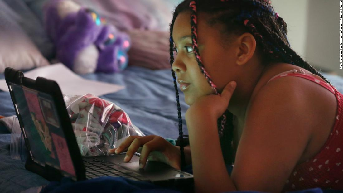 When Schools Go Online These Kids Are Left Behind Cnn
