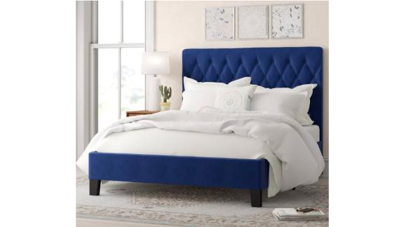 Ivy Bronx Kirtley Upholstered Standard Bed