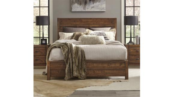 Grain Wood Furniture Montauk Solid Wood Bed