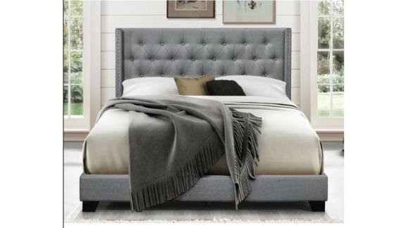 Greyleigh Aadvik Tufted Upholstered Standard Bed