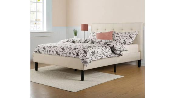 Zipcode Design Leonard Upholstered Low-Profile Platform Bed