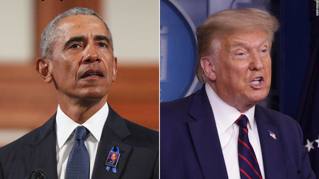 Obama: Trump is trying to 'actively kneecap' and 'starve' the postal service