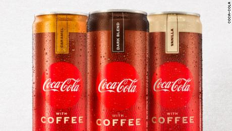 Coke with coffee will debut in U.S. stores in January.