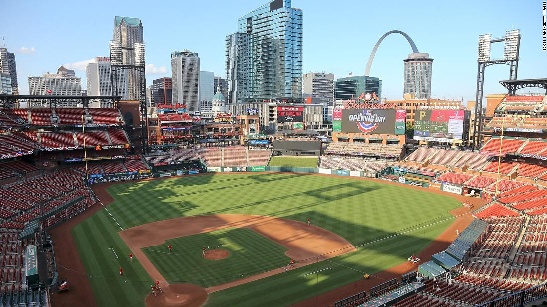 13 St. Louis Cardinals players and staff tested positive for Covid-19 MLB says – CNN