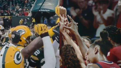 This Nike Ad Took 4 000 Hours Of Sports Footage To Make Cnn Video