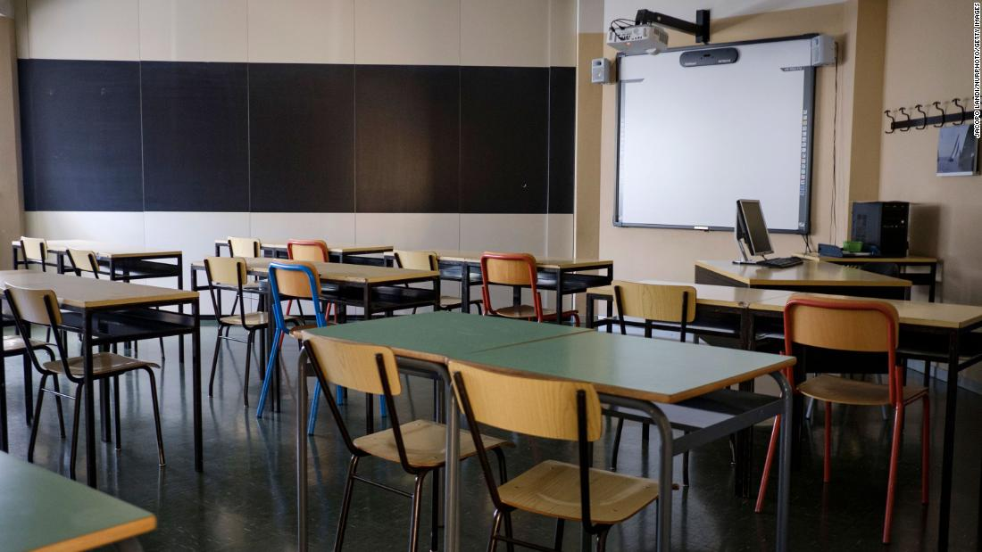 Italy Prepares To Return To School With Saws Cnn