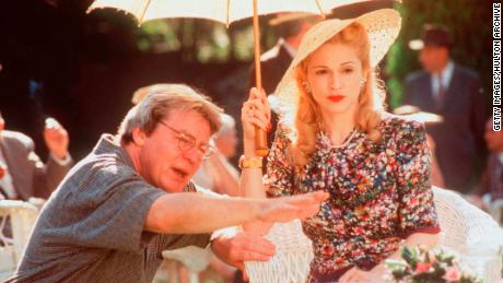 Parker directs Madonna to the set of
