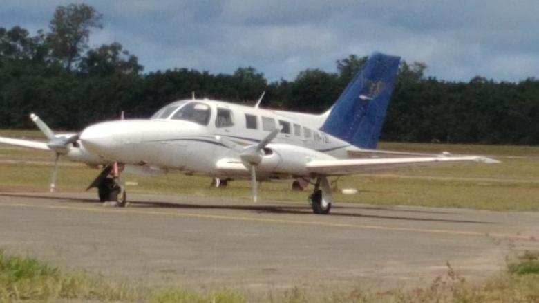 This Cesna aircraft was stuffed with more than 500 kilograms of cocaine.