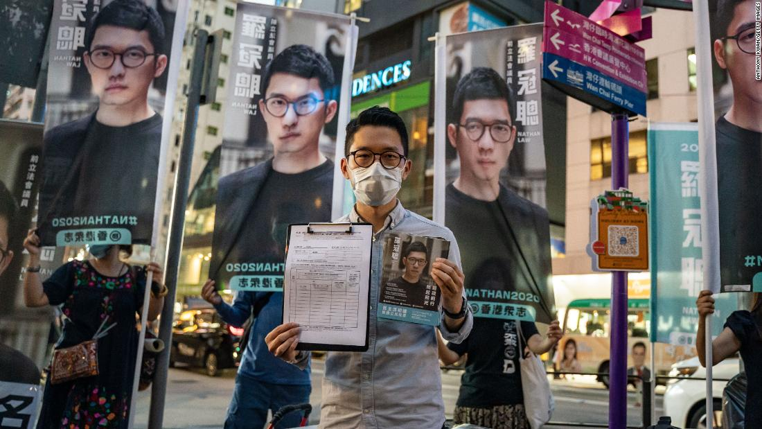 Hong Kong issues arrest warrants for six overseas democracy activists including US citizen, state media reports - CNN