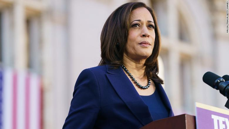Vice President Kamala Harris waits for her own portfolio as she settles into new role