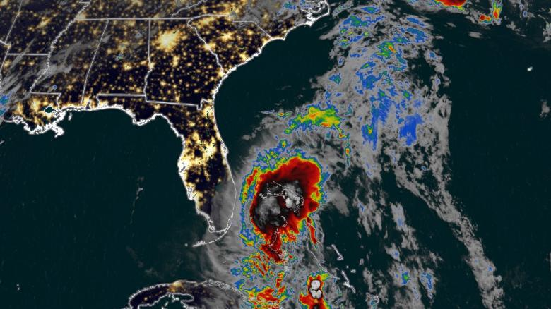 Tropical Storm Isaias beginning to impact Florida