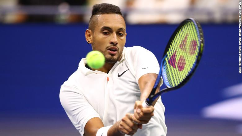 US Open Tennis Kyrgios