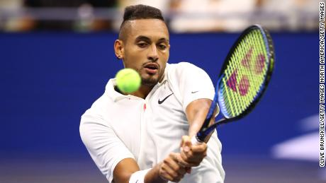 Nick Kyrgios reached the third round of last year's US Open.