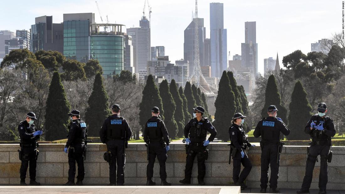 Australia coronavirus: Victoria declares 'state of disaster,' locking down millions in Melbourne 58