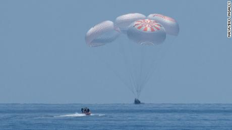 NASA-SpaceX mission: Astronauts splash down after historic mission
