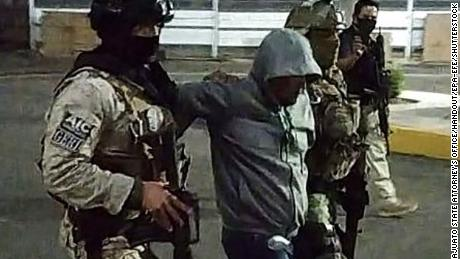 Mexico arrested 'The Sledgehammer', accused of being the sheriff of Santa Rosa de Lima Cartel