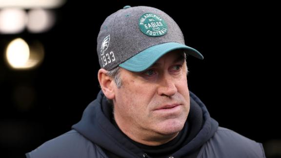 Image for Philadelphia Eagles head coach Doug Pederson tests positive for Covid-19