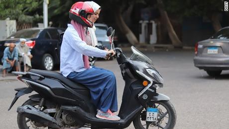 Dosy has taught hundreds of women how to ride motor scooters and bicycles since it launched last year.