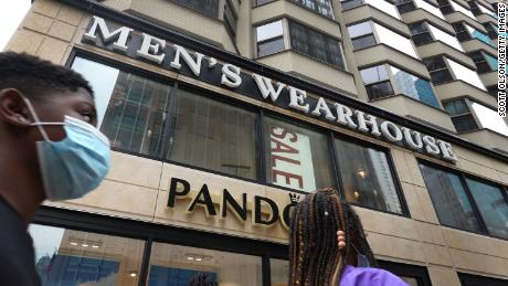 A  Men's Wearhouse store in Chicago, Illinois.