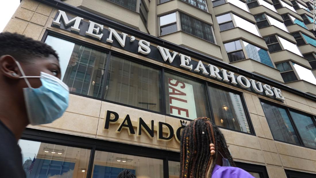 Men's Wearhouse owner files for bankruptcy as pandemic torpedoes suit sales – CNN
