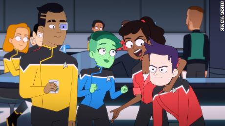 """Star Trek: Lower Decks"" is the franchise's first comedy."