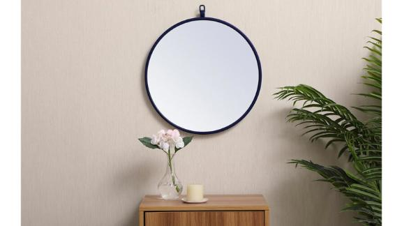 Ariella Modern and Contemporary Distressed Accent Mirror